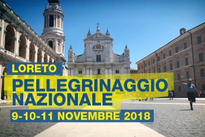 Pellegrinaggio nazionale 2018 Loreto Foulard Bianchi